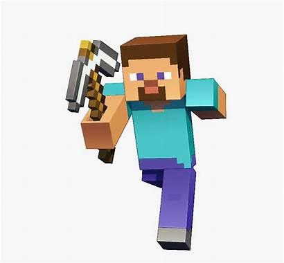 Minecraft Steve Render Smash Character Clipart Transparent