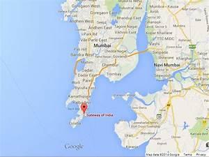 Gateway of India on Map of Mumbai   World Easy Guides