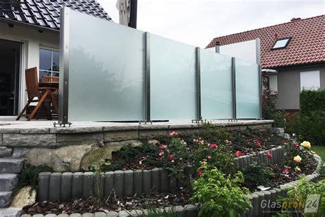 Terrasse Mit Sichtschutz by Windschutz F 252 R Die Terrasse Glasprofi24