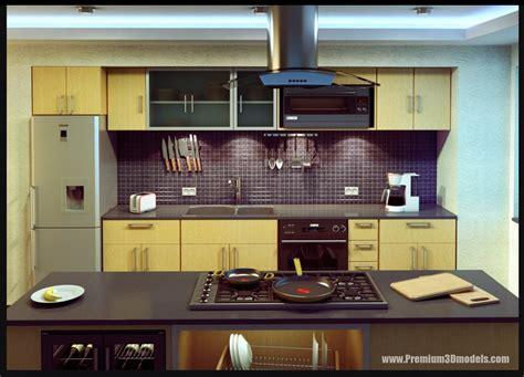 Kitchen 3d Models Collection