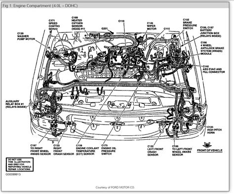 2002 Mercury Mountaineer Wiring Harnes by Mercury Mountaineer Fuse Box Diagram I No Fuel Going