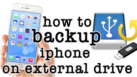 backup iphone to external drive how to take backup of iphone on external drive easy 1099