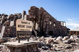Mount Evans Scenic Byway Is The Highest Paved Road In Colorado