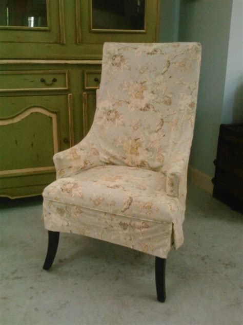 shabby chic dining chair slipcovers host chair with shabby chic floral slipcover traditional