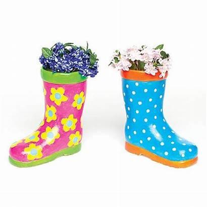 Wellington Boot Ceramic Flowerpots Boots Planter Wellie