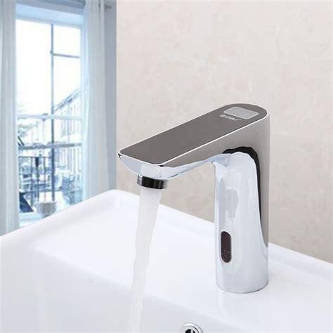 delta motion sensor bathroom faucets sink  faucet