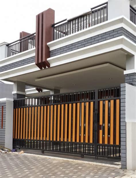 Terutama untuk pagar tembok minimalis. Gambar Pagar Gate Rumah | Desain Rumah