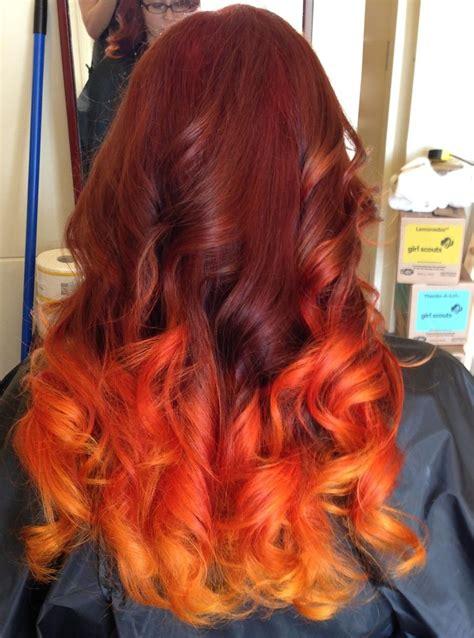 Best 25 Flame Hair Ideas On Pinterest Fire Hair Fire