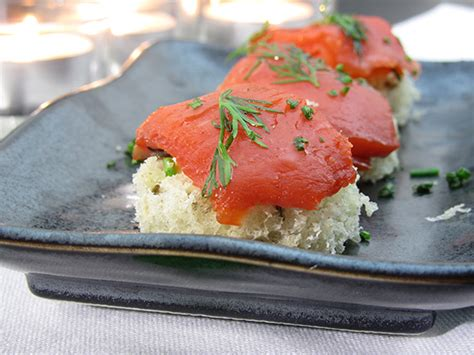smoked salmon canapes family secret to easy appetizers
