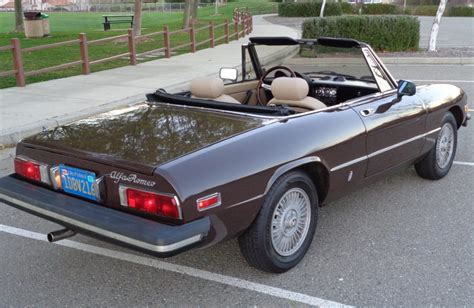 1981 Alfa Romeo Spider by 1981 Alfa Romeo Spider For Sale On Bat Auctions Sold For