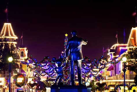when do they remove christmas decorations at disneyland
