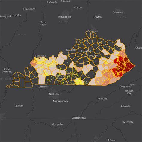 kentucky  oil gas threat map