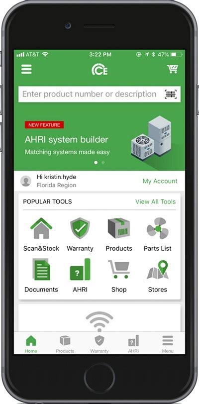ce carrier enterprise app hvac contractor mobile app