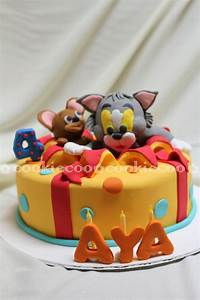cookiecoo: Tom & Jerry cake for Aya