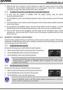Harris Rf Communications Division Xg