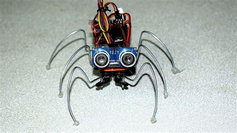 robotic spider robotic diy  arduino