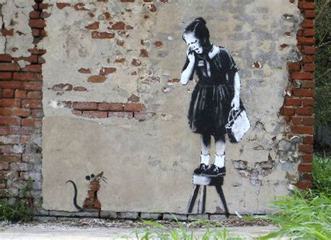 Banksy In New Orleans From 2008 To 2013