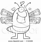 Dragonfly Coloring Clipart Cartoon Vector Loving Gravy Thoman Cory Outlined Template sketch template