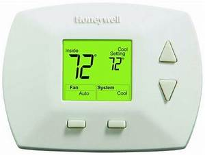 Honeywell Rth5100b 1025 Deluxe Manual Thermostat By