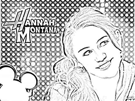 Hannah Montana Coloring Pages Hannah Montana Hannah
