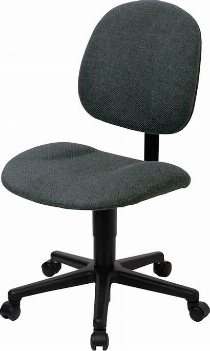 Chair Office Clipart Transparent Desk Chairs Background