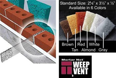 aecinfocom news mortar net weep vents