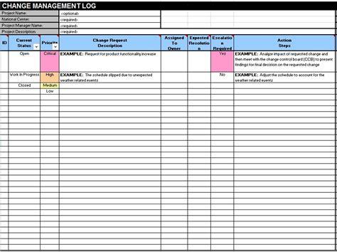 change log template change log templates 10 free sle templates