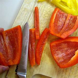 How to cut a bell pepper | Flickr - Photo Sharing!