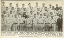 st louis browns season wikipedia