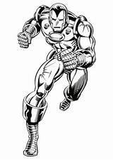 Iron Coloring sketch template