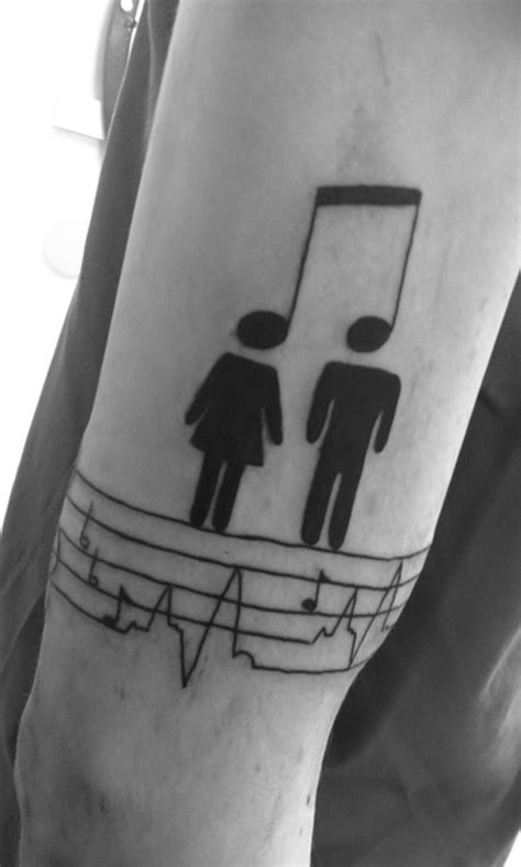 50 Cool Music Tattoo Designs and Ideas - The Xerxes