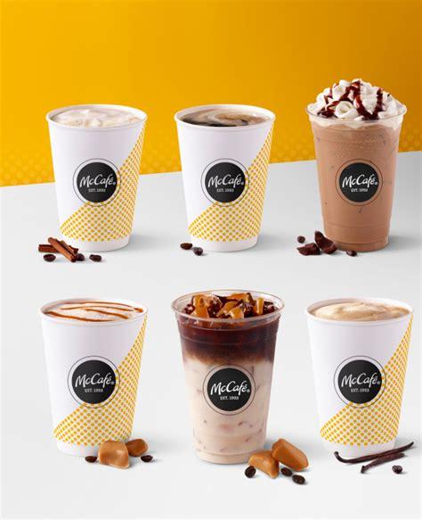 Kesegaran es kopi dari 100% arabica khas mccafe. McDonald's challenges Starbucks, Dunkin' with new McCafe menu, look - Orange County Register