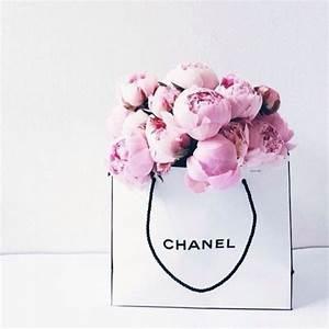 chanel peonies bag | Tumblr