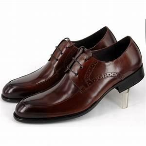 Chaussure De Ville Garcon : chaussures de ville derby en cuir pour homme perforations ~ Dallasstarsshop.com Idées de Décoration