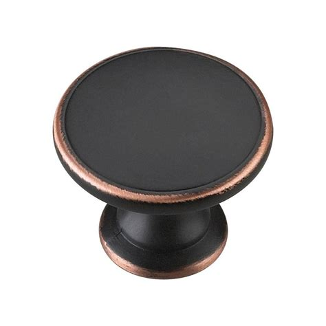 home depot cabinet handles richelieu hardware 1 3 4 in brushed oil rubbed bronze