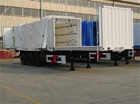 curtain side semi trailer photos pictures