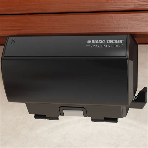 black decker spacemaker under the cabinet black can opener