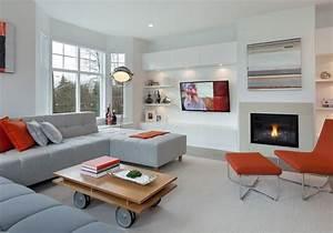 Deco Salon Moderne : maison et decoration salon decore de maison 2015 reference maison ~ Teatrodelosmanantiales.com Idées de Décoration
