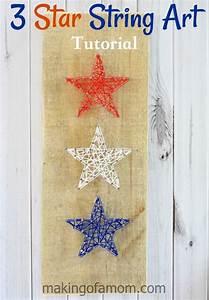 3 Star String Art Tutorial