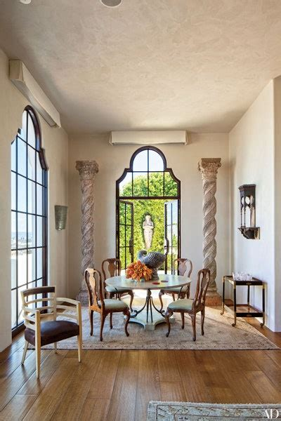 homes  grand interior columns architectural digest