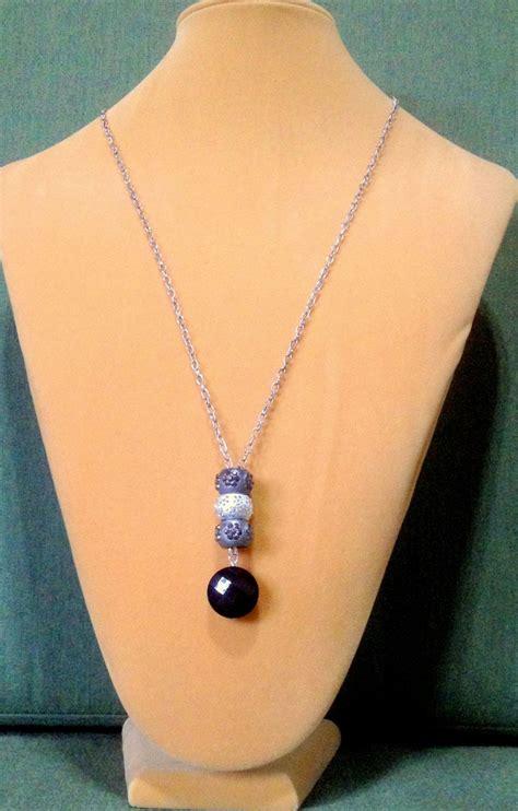 pandora charm necklace   drop pendant long