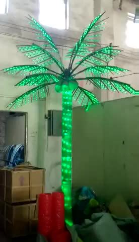 decorative palm trees with lights led artificial decorative outdoor lighted palm tree buy