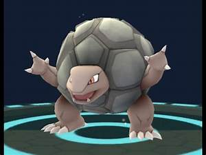 Pokemon GO - Graveler evolving into Golem - YouTube