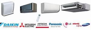 Meilleur Marque Climatiseur : climatisation inverter multisplit de marque daikin mitsubishi electric et toshiba ~ Melissatoandfro.com Idées de Décoration
