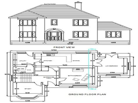 house plan drawings free dwg house plans autocad house plans free