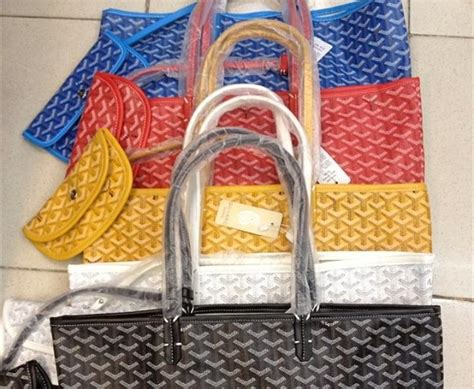 la clave  estar  la ultima goyard los bolsos resistentes al agua  puedes personalizar