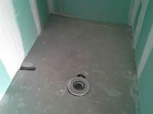 Comment Faire Une Douche Italienne : comment monter une douche italienne sur plancher bois le ~ Dailycaller-alerts.com Idées de Décoration