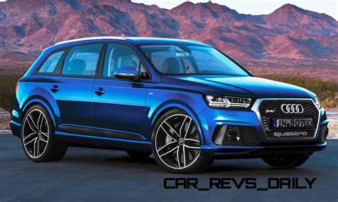 Future Suv Renderings  2016 Audi Rs Q7 3