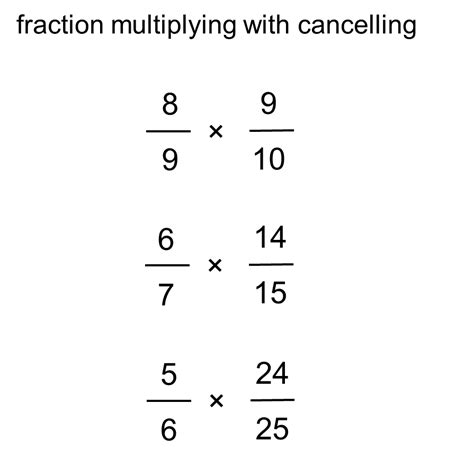 Median Don Steward Mathematics Teaching Fraction Multiplication With Cancelling