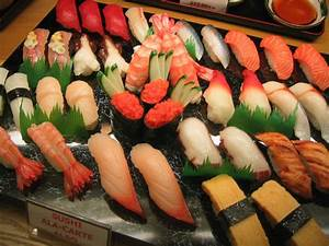 The Ratner Gazette: How Many Calories Are in Sushi?